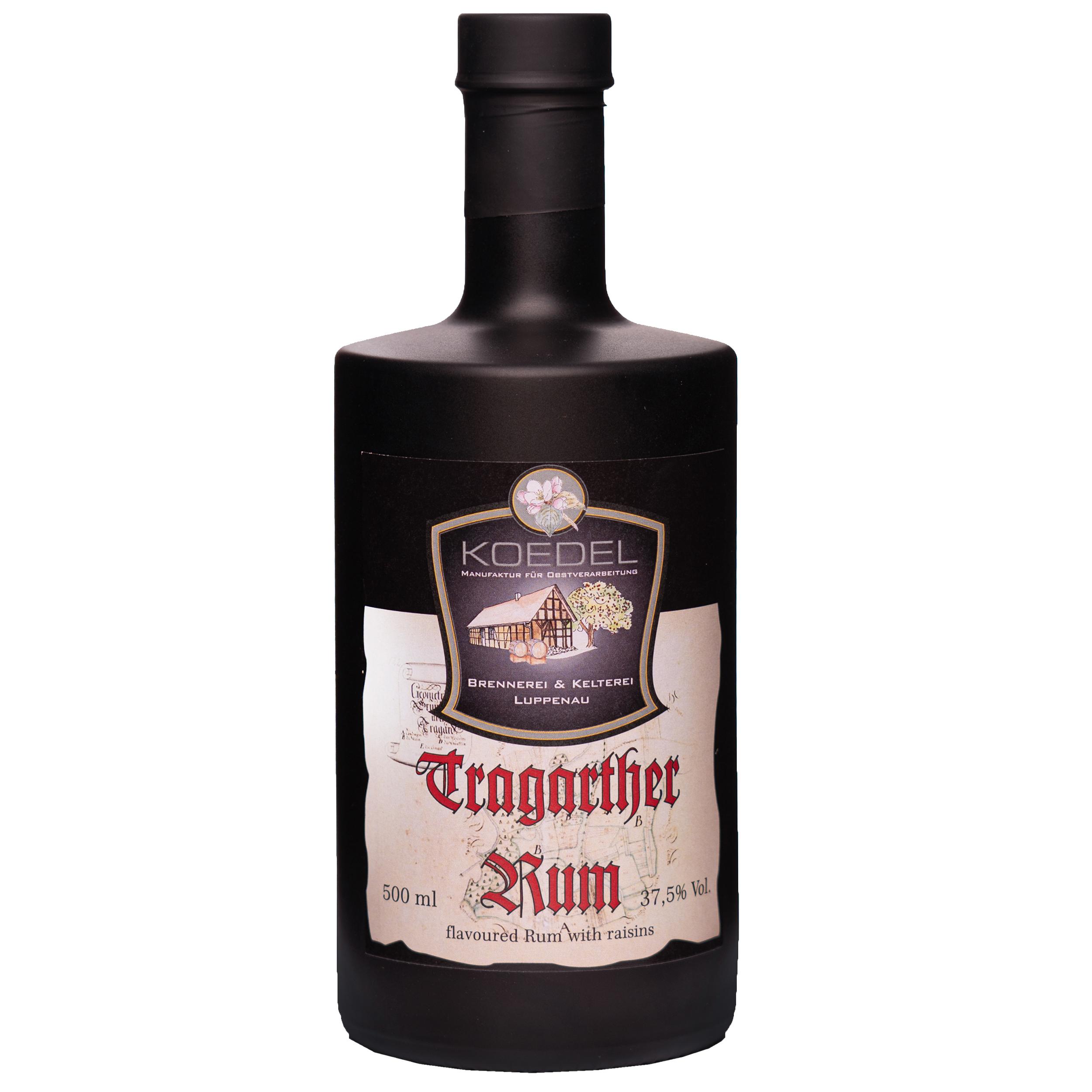 Tragarther Rum, flavoured with raisins 500ml