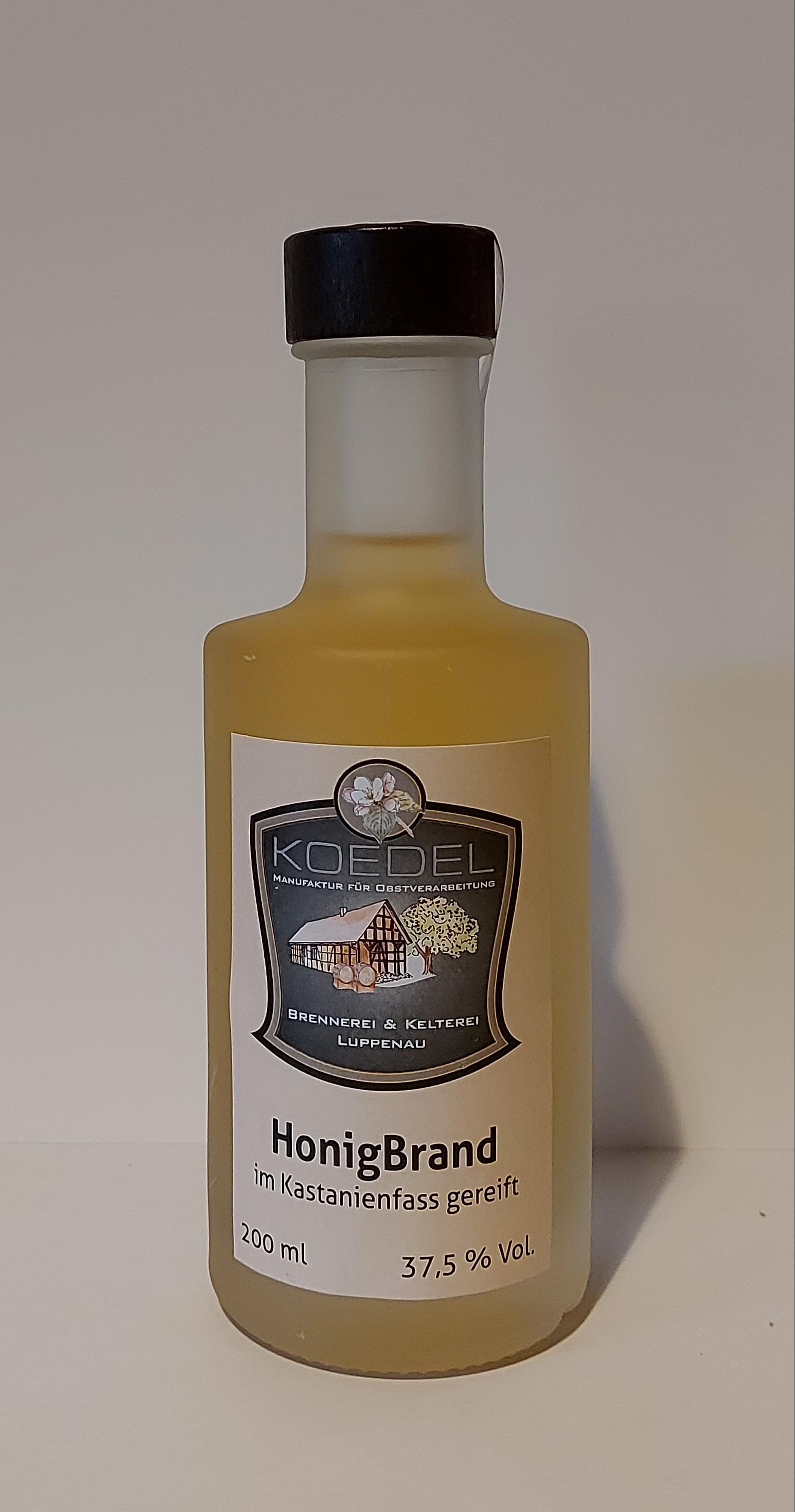 Honigbrand, im Kastanienfass gereift 200 ml