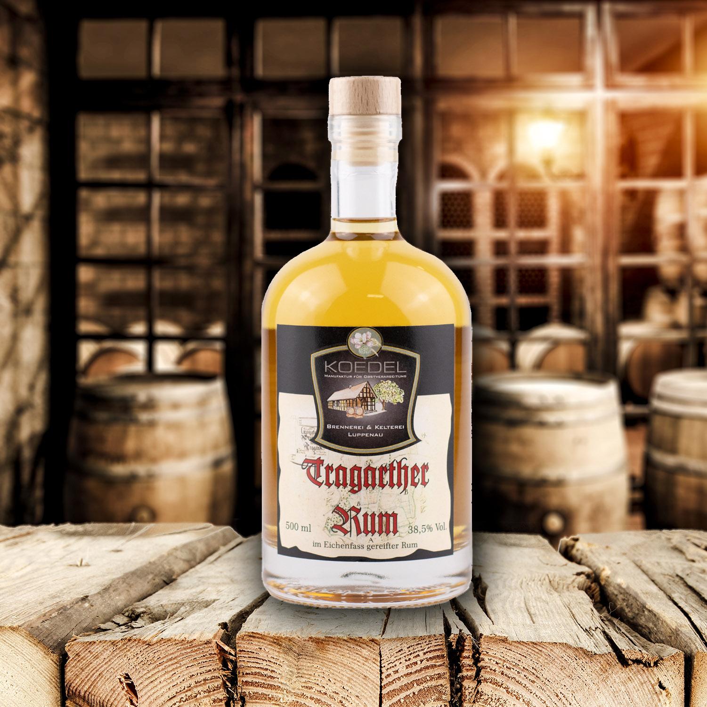 Tragarther Rum, im Fass gereifter Rum 500ml